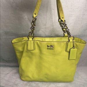 Coach Madison chain bag